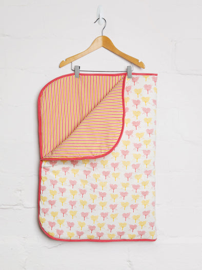 Heart Tree Stripe Blanket - cool baby clothes by lucy & sam