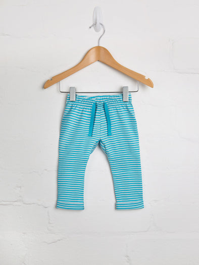 Blue Stripe Jogger - cool baby clothes by lucy & sam