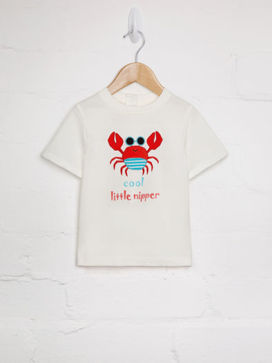 Cool Little Nipper Tee - cool baby clothes by lucy & sam