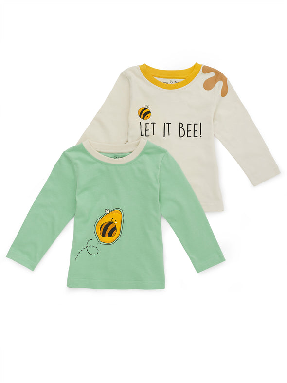 Two-Pack Bee Kind Tees