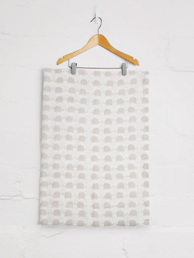 Elephant Muslin - cool baby clothes by lucy & sam