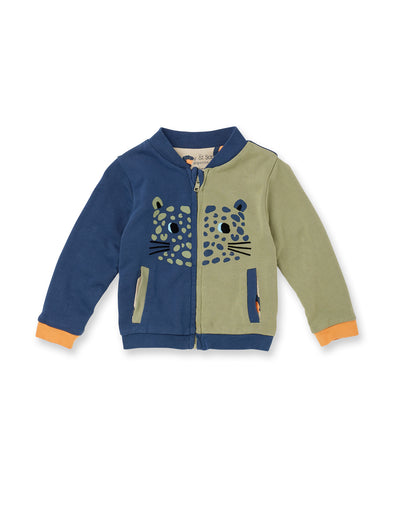 Spot The Leopard Bomber Jacket - cool baby clothes by lucy & sam