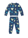 Spot The Leopard Tracksuit Set - cool baby clothes by lucy & sam