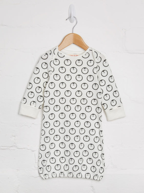 Penguin Sleepgown - cool baby clothes by lucy & sam