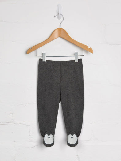 Penguin Happy Feet Joggers - cool baby clothes by lucy & sam