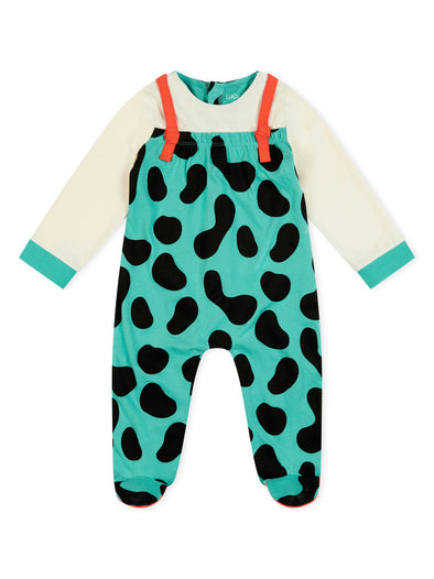 Lucy /& Sam Baby Space Invader Turquoise Tracksuit