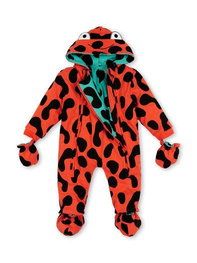 Red Frog Camo Pramsuit