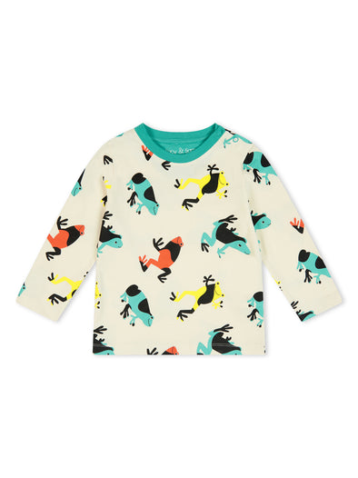 Tropical Frog Long Sleeve Tee