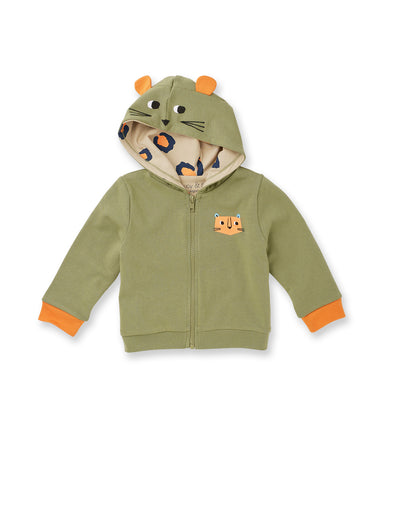 Well Spotted Leopard Hoody - cool baby clothes by lucy & sam