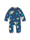 Spot The Leopard Zip Babygrow - cool baby clothes by lucy & sam