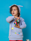 Pixel Madness Oversized Hugee Hoodie - cool baby clothes by lucy & sam