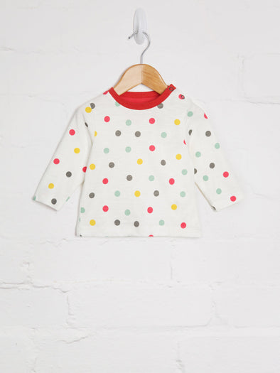 Spot Print T-shirt - cool baby clothes by lucy & sam