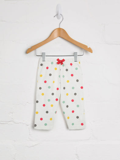 Spot Print Leggings - cool baby clothes by lucy & sam