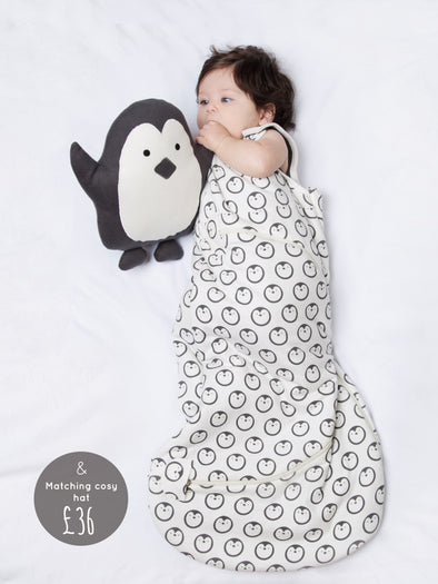 Penguin Sleeping Bag Bundle - cool baby clothes by lucy & sam