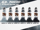 World Famous - AD Pancho Pastel Grey Set - 4 oz