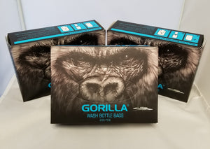 Gorilla Black Bottle Cover - 200 pc