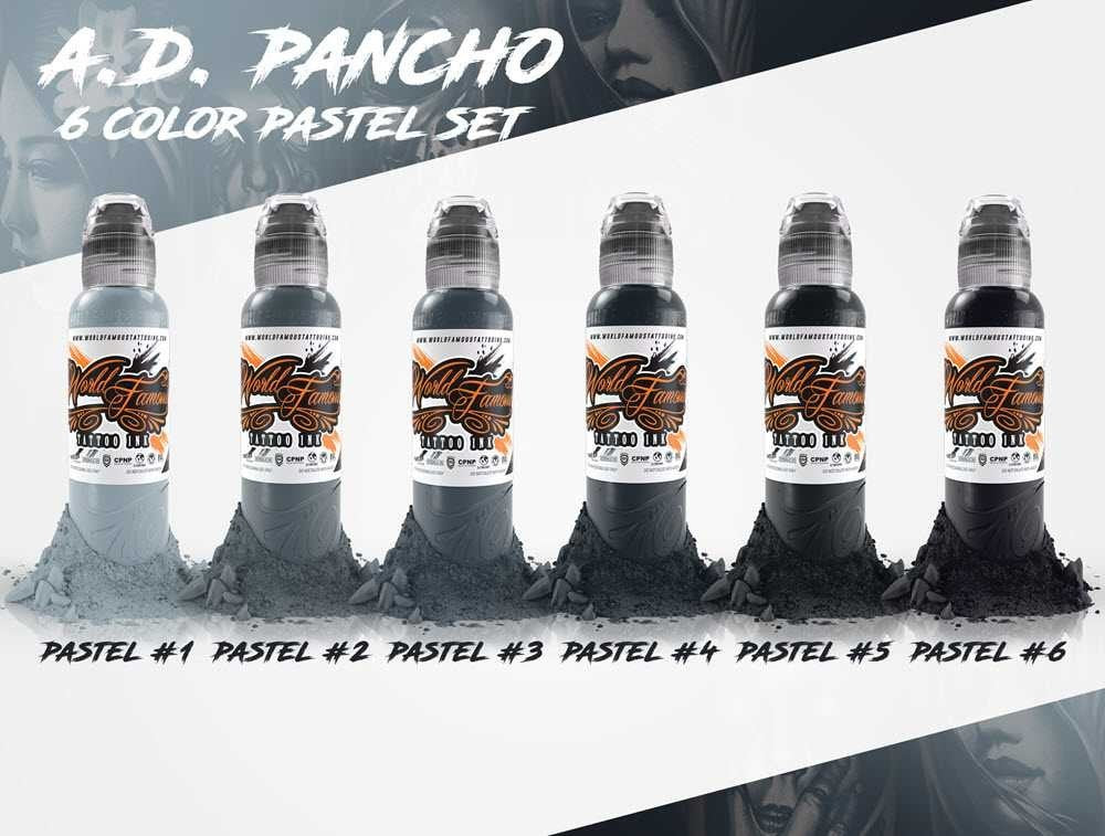 World Famous - AD Pancho Pastel Grey Set - 1 oz
