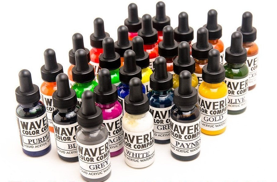 Waverly Liquid Acrylic 26 Color Set - 1 oz