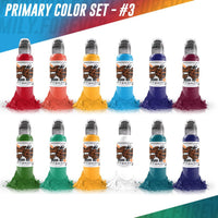 World Famous Primary Color Set #3