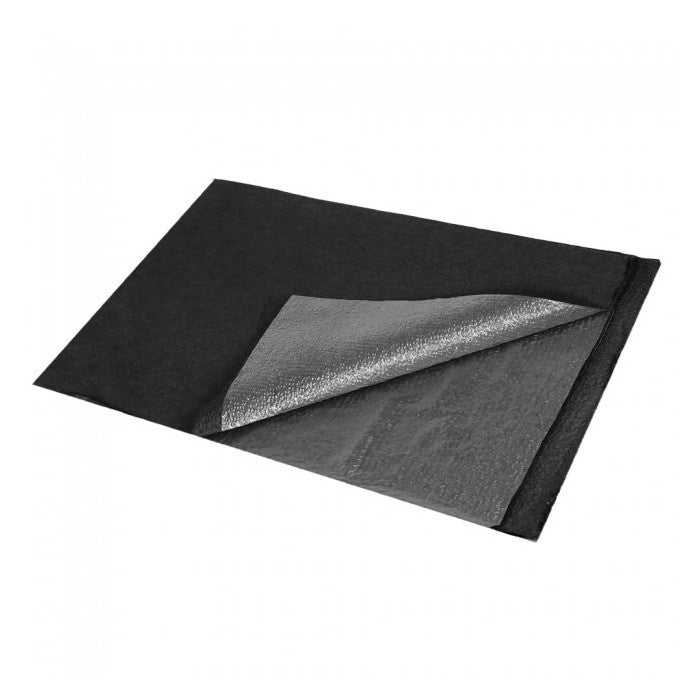 Bulldog Premium Poly Drape Sheet - Black