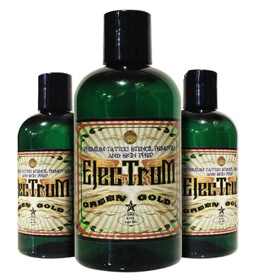 Electrum Premium Tattoo Skin Prep and Stencil Repositioner - 8 oz