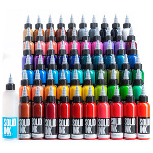 Solid Ink - 60 Color Set - 2 oz
