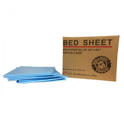 Bulldog Premium Poly Drape Sheet - Blue