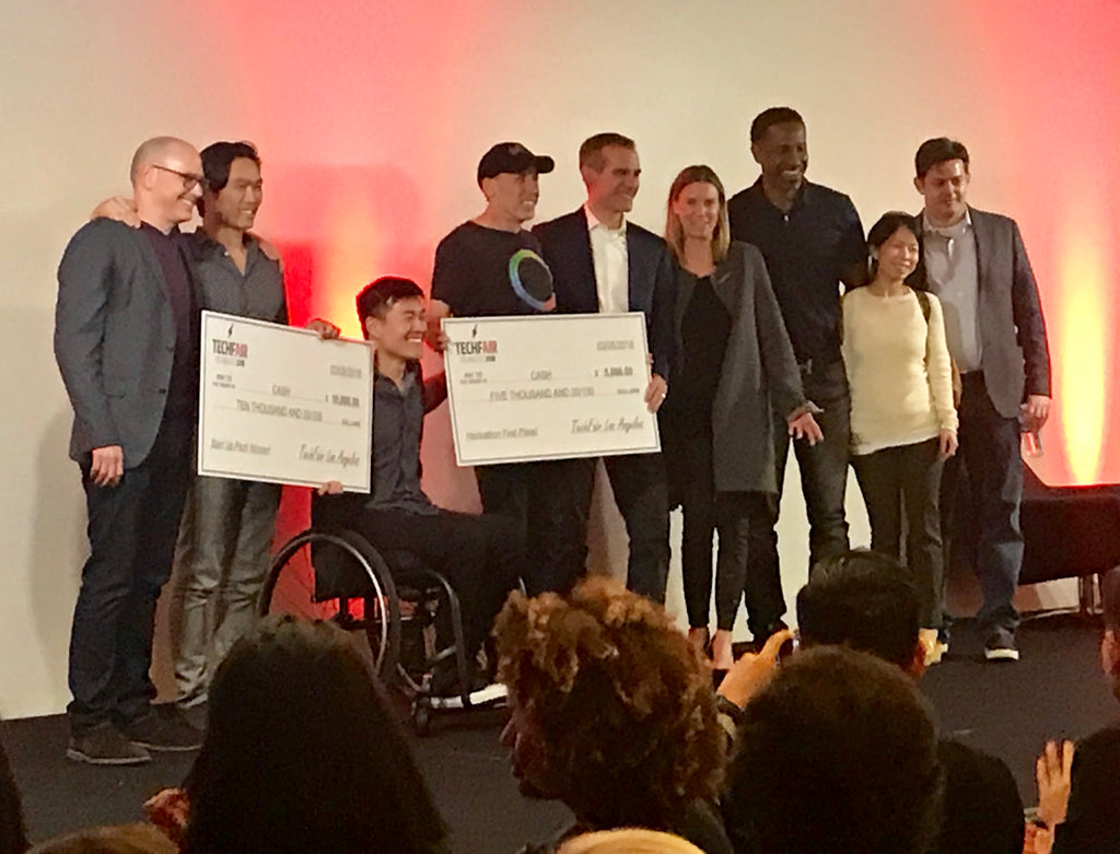 NeuroGum wins the LA Tech Fair Startup Competition