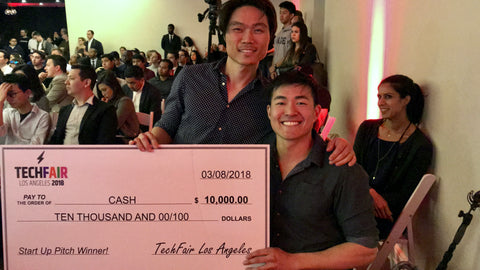 Kent Yoshimura and Ryan Chen Win LA Tech Fair