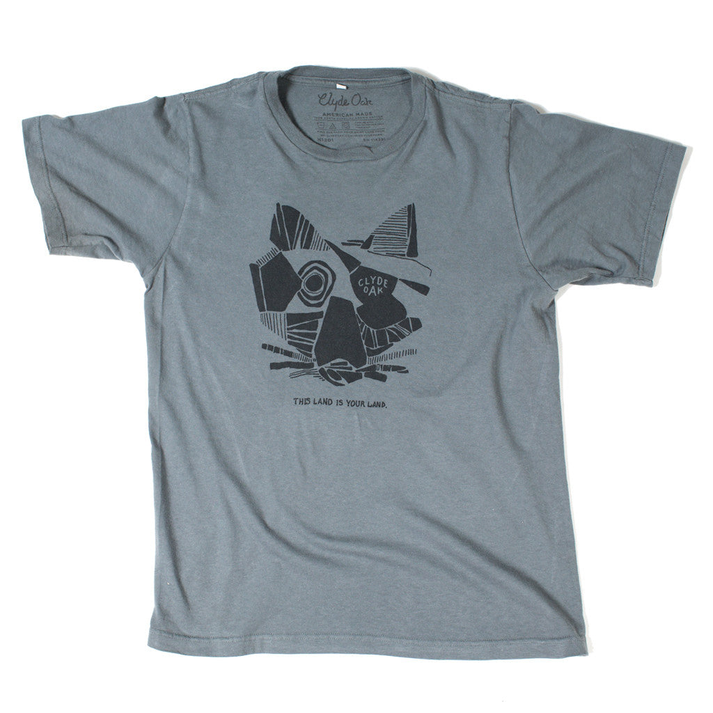 Fox Field Tee - Clyde Oak Brand - 1