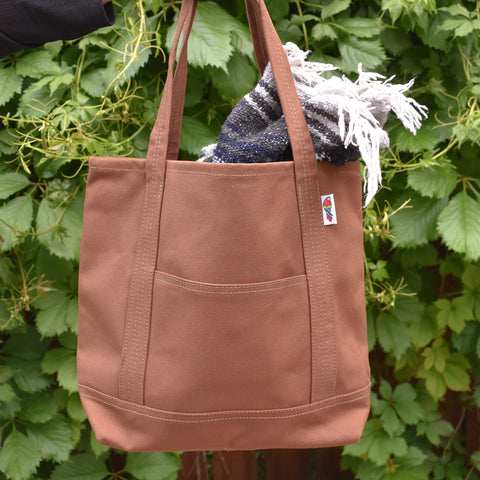 Parrott Canvas Barrier Island Tote