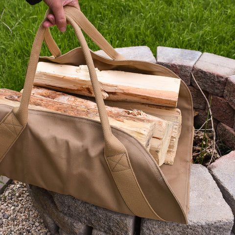 Parrott Canvas Firewood Carrier