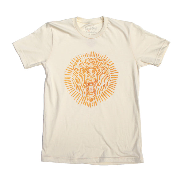 Bear Tee in Orange | Natural