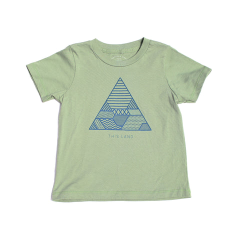 Kids Soil Tee | Avocado - Clyde Oak Brand - 1