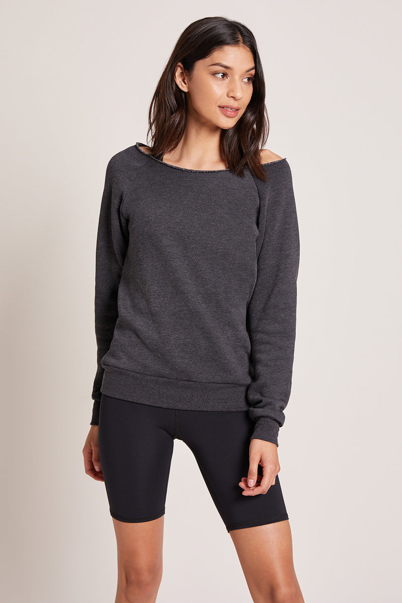 Monterey Crew Neck Sweatshirt - Black