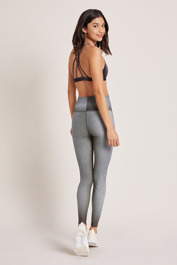 Shagreen High Waisted Legging - Fatigue