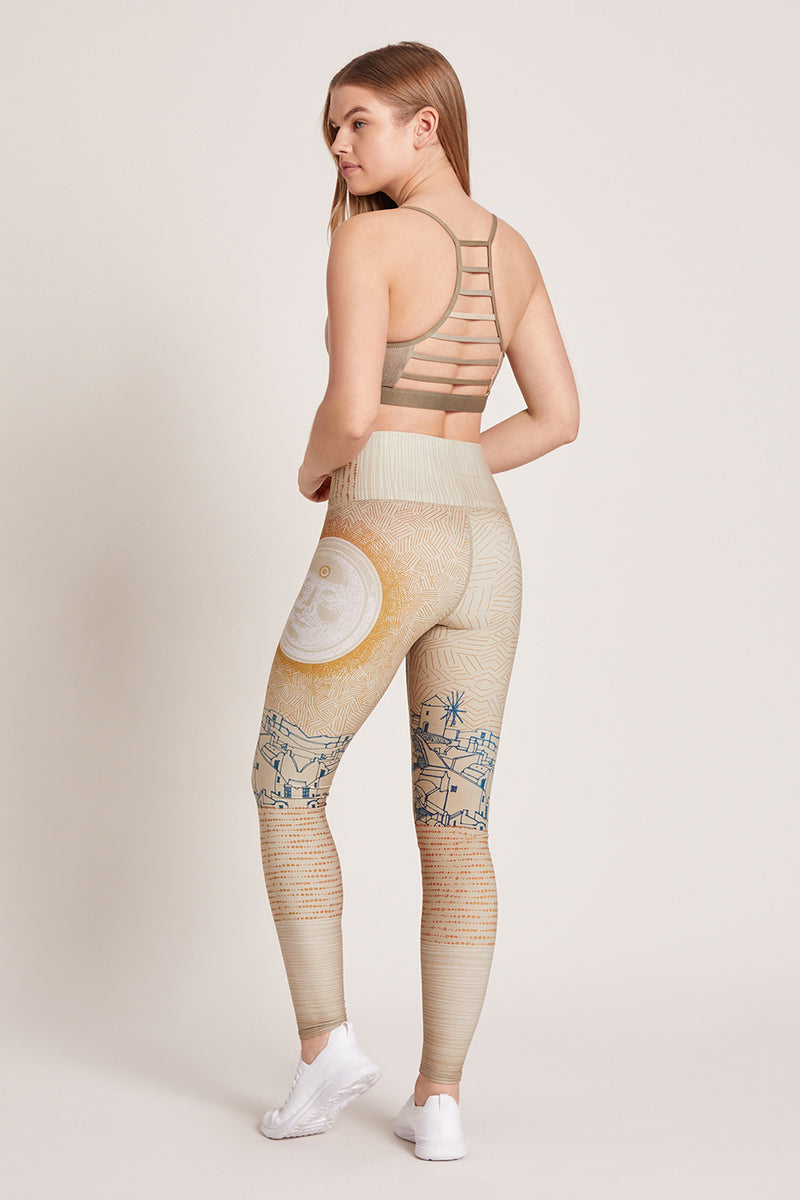 Mykonos High Waisted Legging
