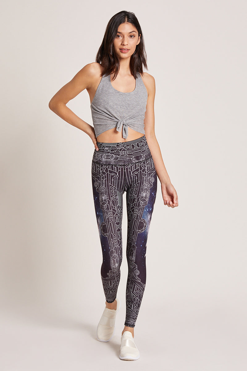 Wolf Moon High Waisted Legging