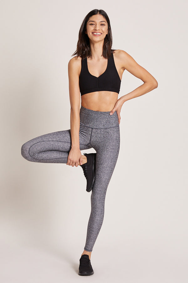 Herringbone High Waisted Legging
