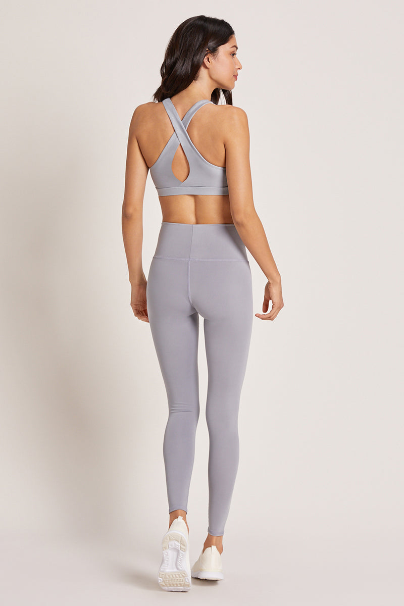 Barefoot High Waisted Legging - Platinum