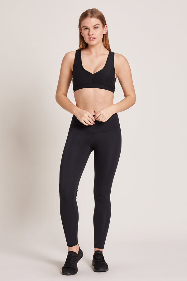 Barefoot High Waisted Legging - Black