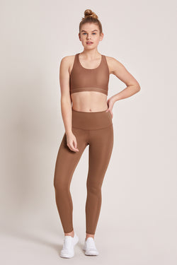 Barefoot High Waisted Legging - Nutmeg