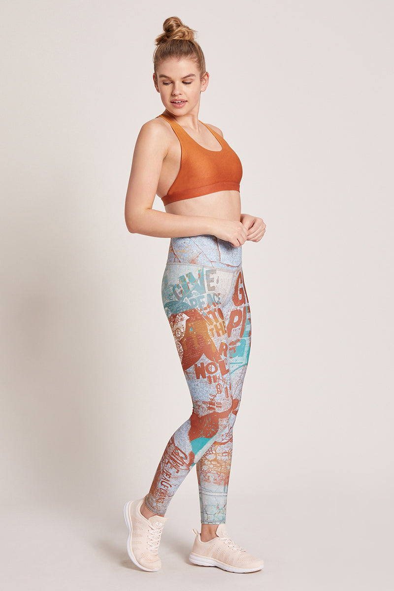 Peace High Waisted Legging