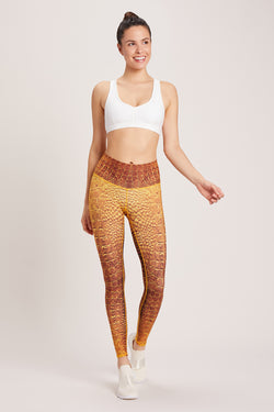 Croc High Waisted Barefoot Legging