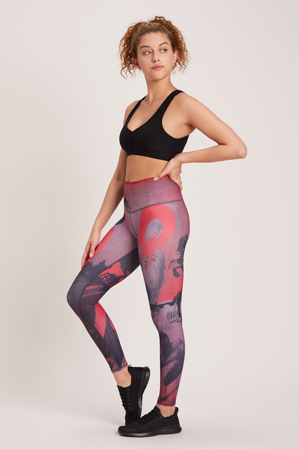 Blood Moon High Waisted Legging