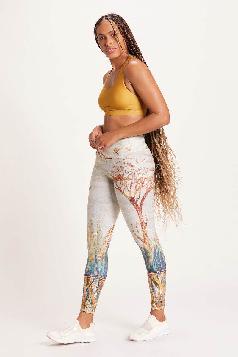 Savanna High Waisted Legging