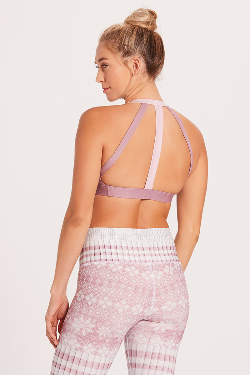 Tri Sports Bra - Winter Pink