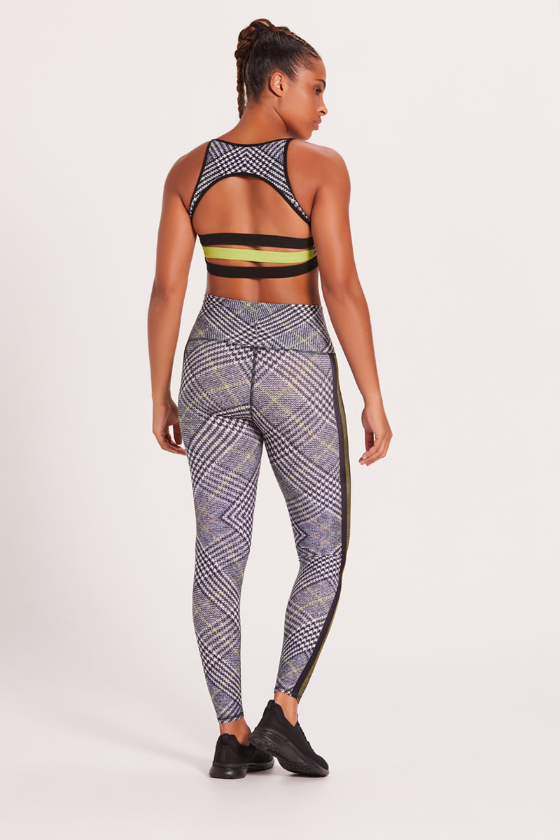 Barefoot Legging - Racer Plaid