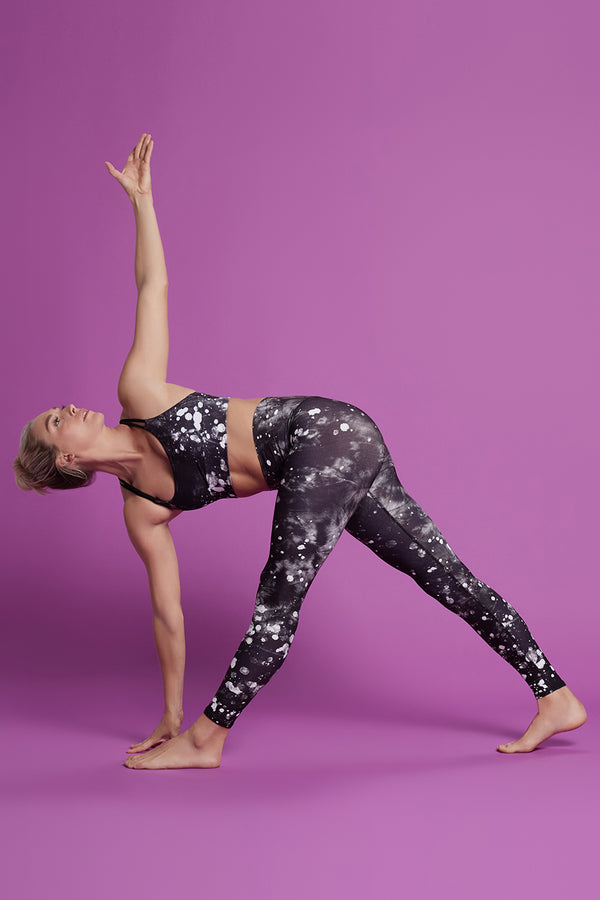 Tie Dye Barefoot Legging - Moon Dust