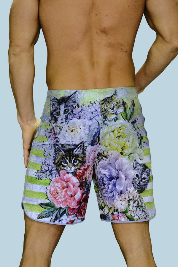 Cat-Tastic Cruiser Board Short